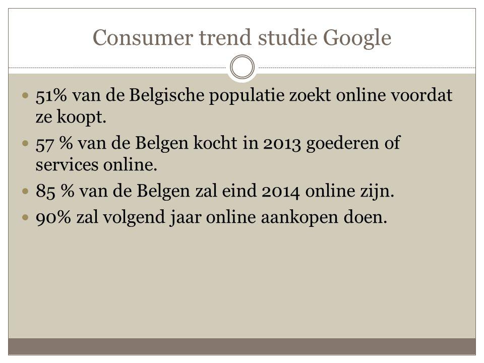 Consumer trend studie Google