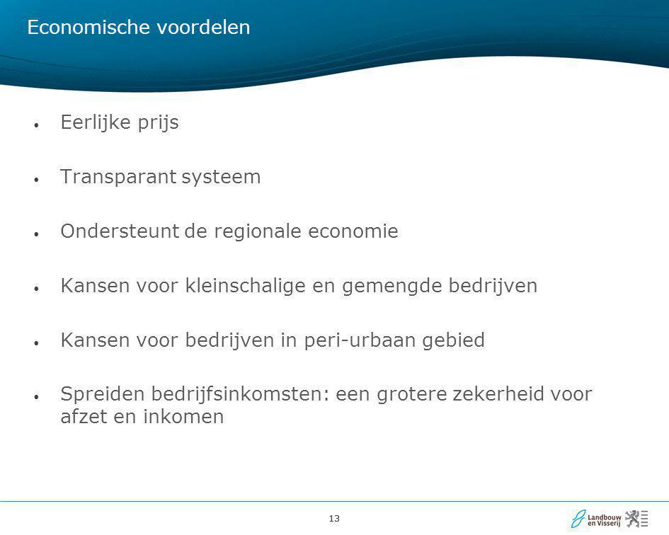 Economische voordelen