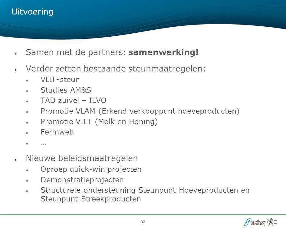 Samen met de partners: samenwerking!