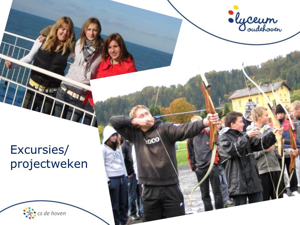 Excursies/ projectweken