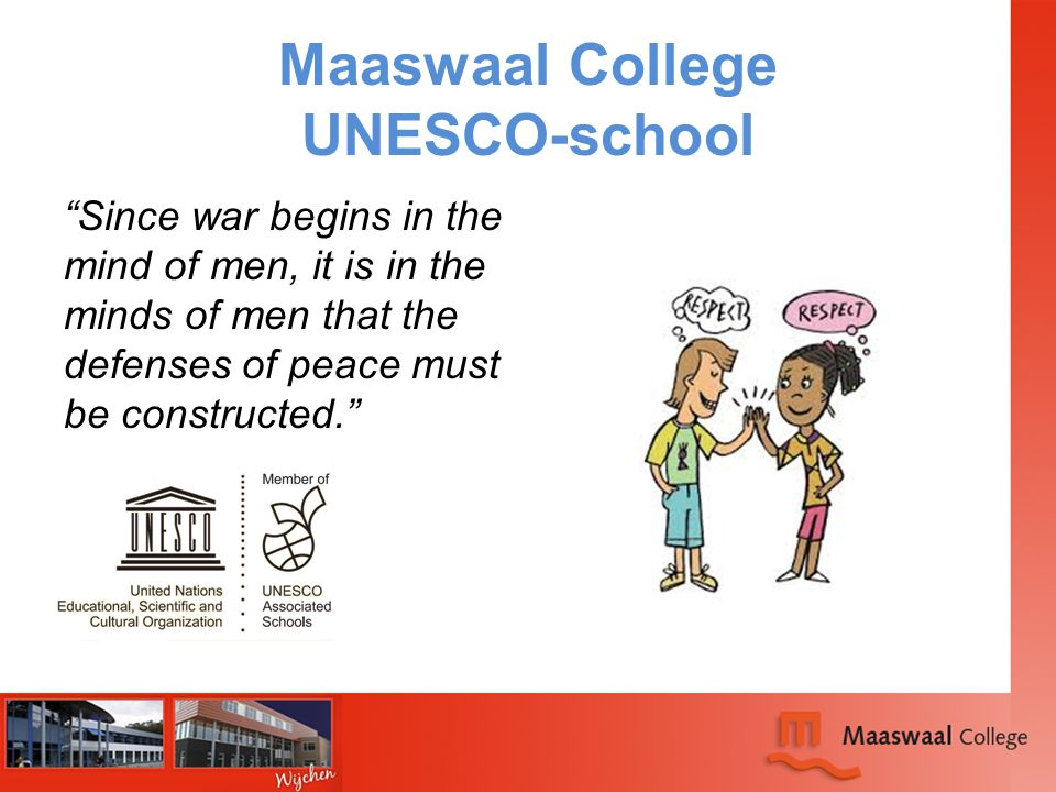 Maaswaal College UNESCO-school