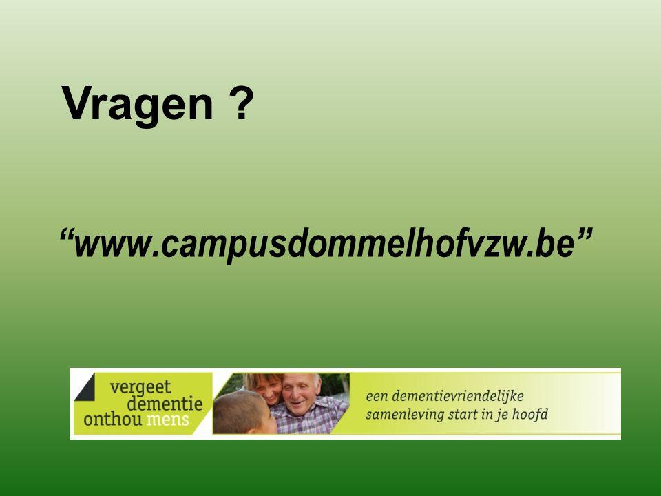 Vragen www.campusdommelhofvzw.be