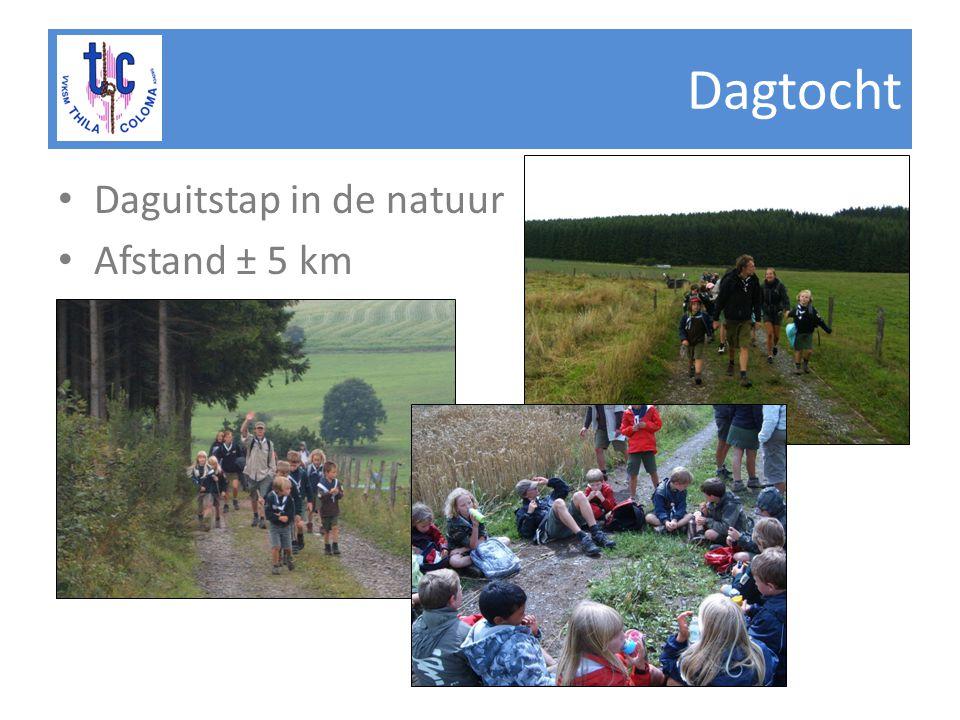 Dagtocht Daguitstap in de natuur Afstand ± 5 km
