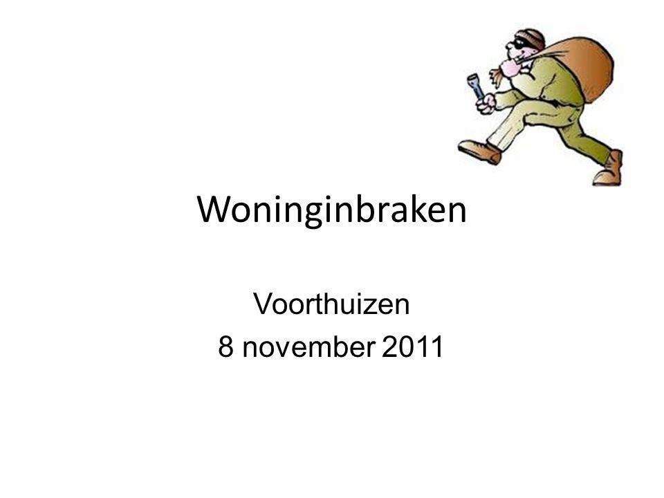 Woninginbraken Voorthuizen 8 november 2011