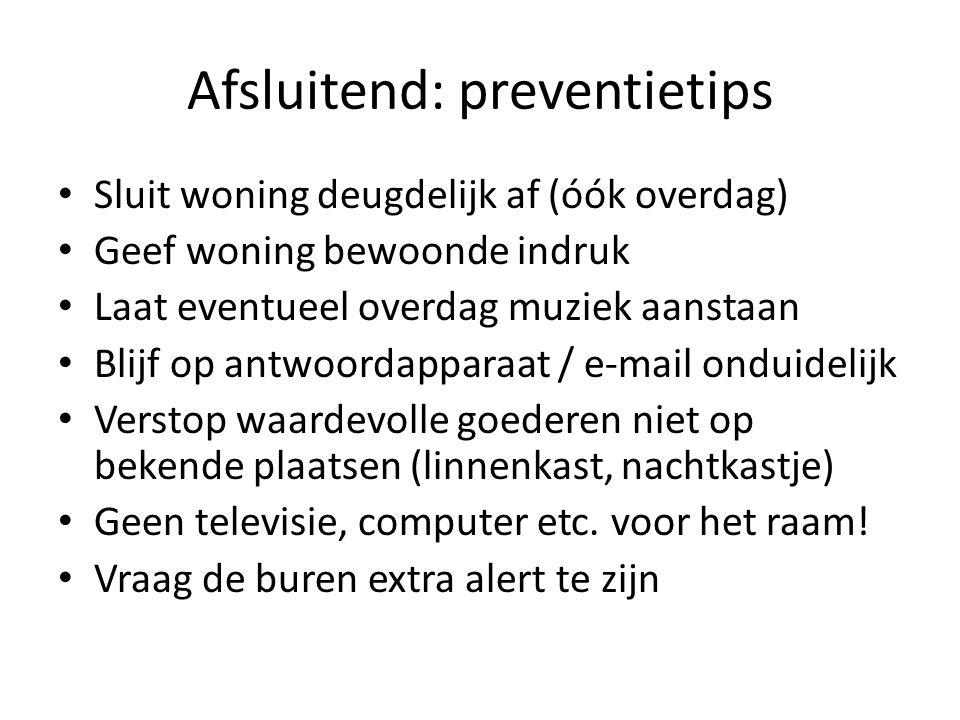 Afsluitend: preventietips