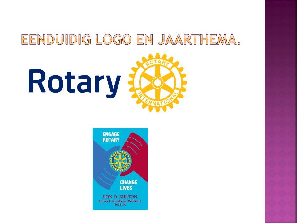 eenduidig logo en jaarthema.
