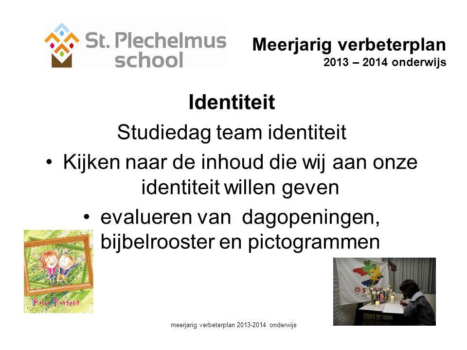 Studiedag team identiteit