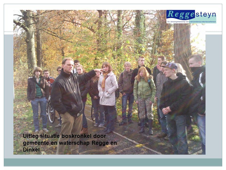 Uitleg situatie boskronkel door gemeente en waterschap Regge en Dinkel