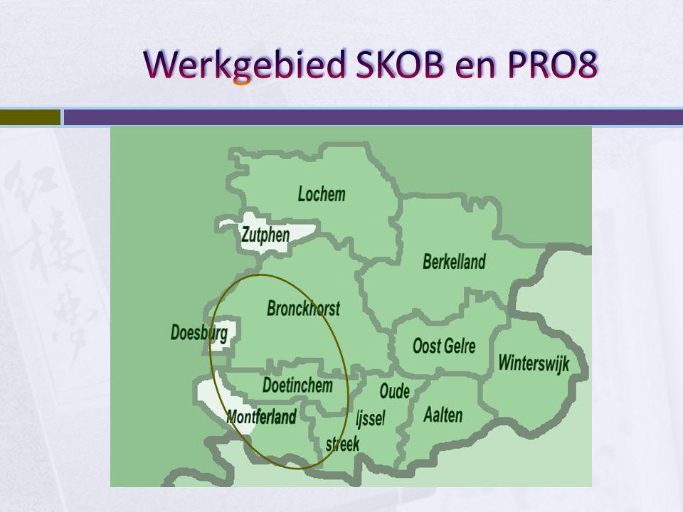 Werkgebied SKOB en PRO8