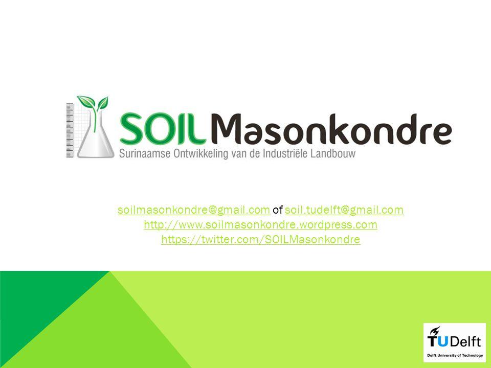 soilmasonkondre@gmail.com of soil.tudelft@gmail.com