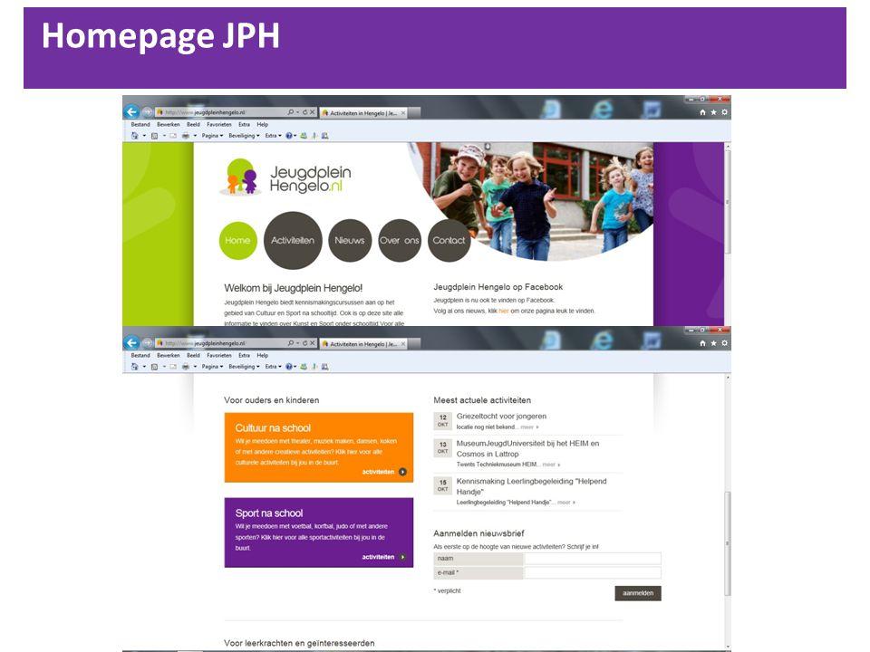 Homepage JPH