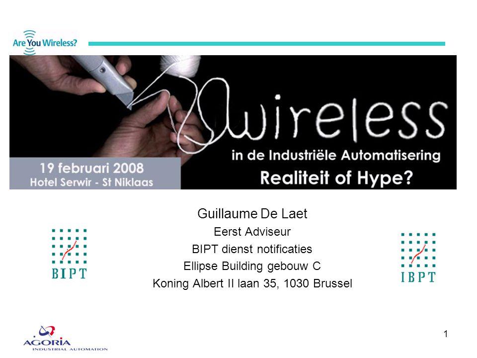 Guillaume De Laet Eerst Adviseur BIPT dienst notificaties