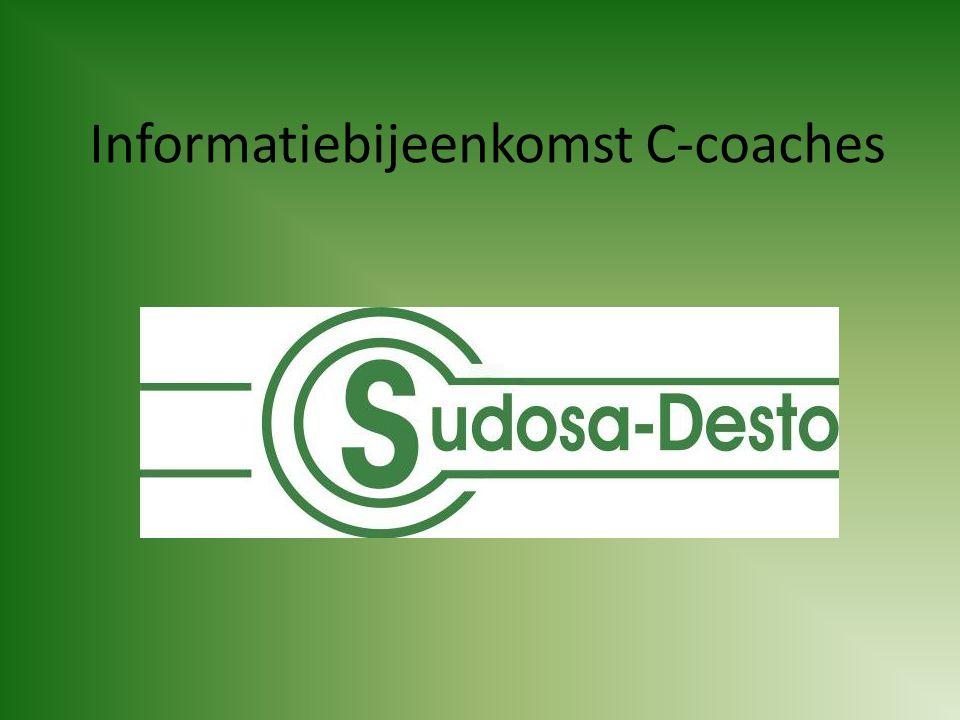 Informatiebijeenkomst C-coaches