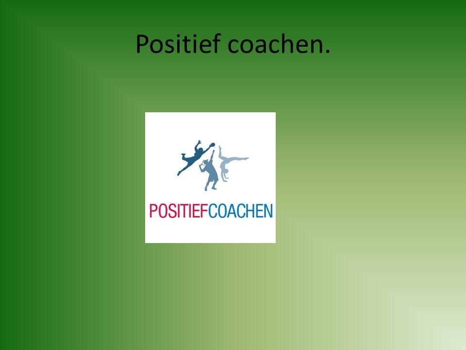 Positief coachen.