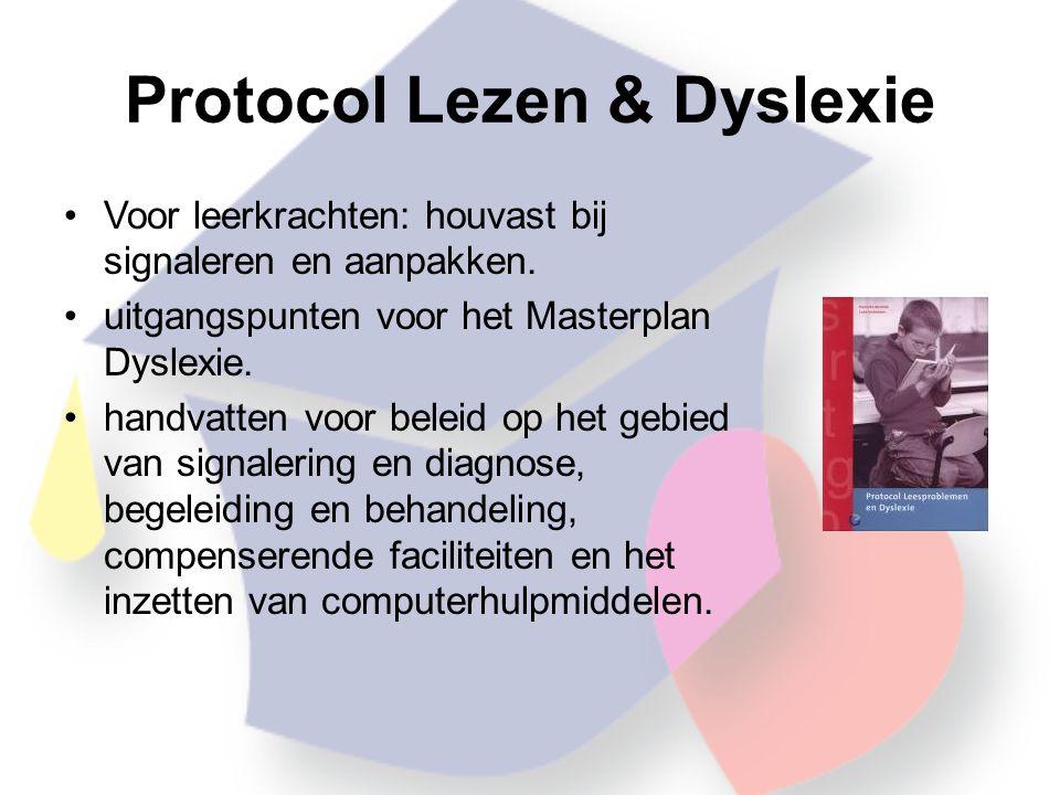 Protocol Lezen & Dyslexie
