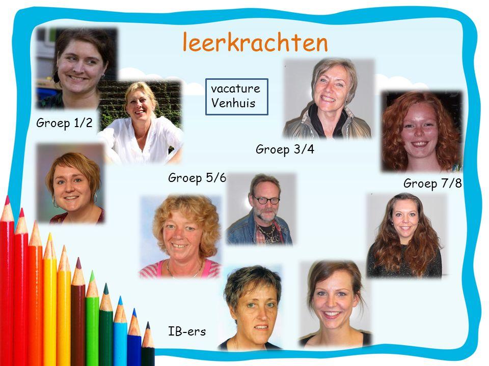 leerkrachten vacature Venhuis Groep 1/2 Groep 3/4 Groep 5/6 Groep 7/8