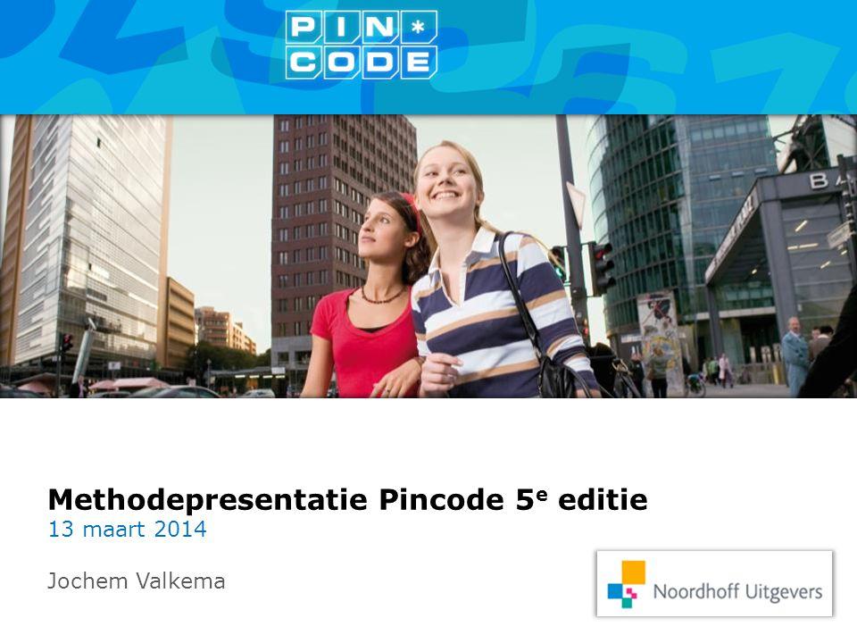 Methodepresentatie Pincode 5e editie