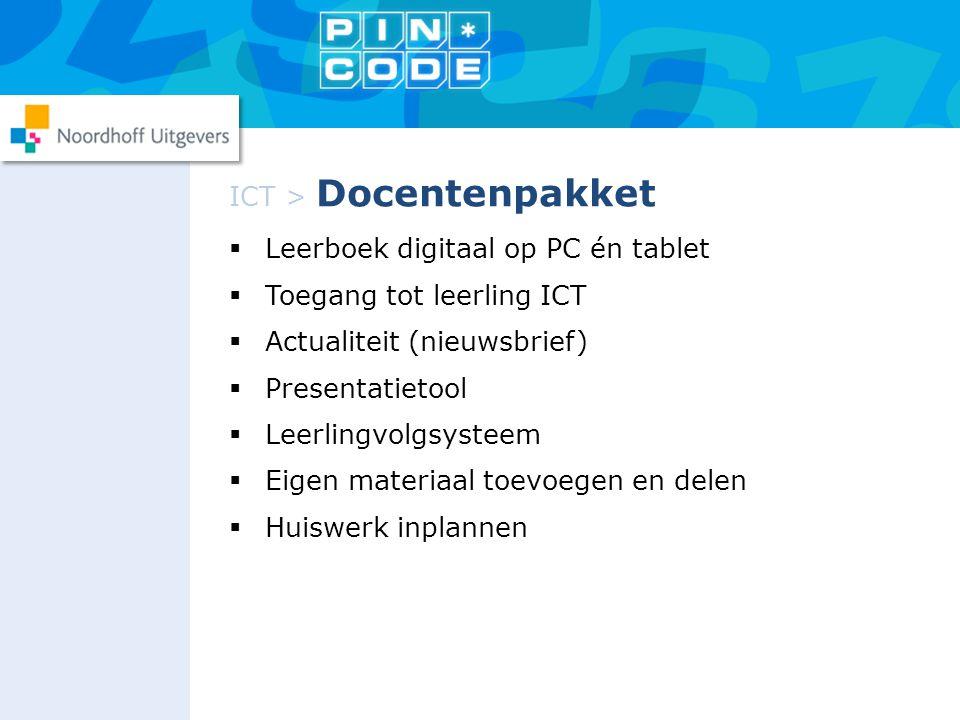 ICT > Docentenpakket