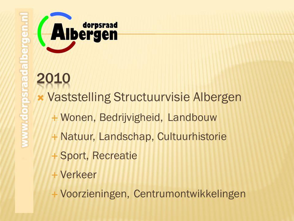 2010 Vaststelling Structuurvisie Albergen