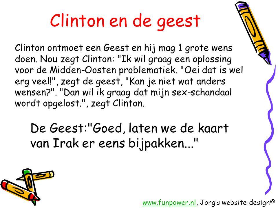 Clinton en de geest