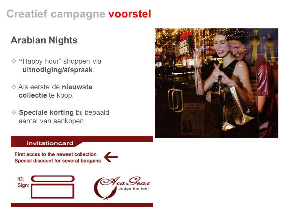 Creatief campagne voorstel