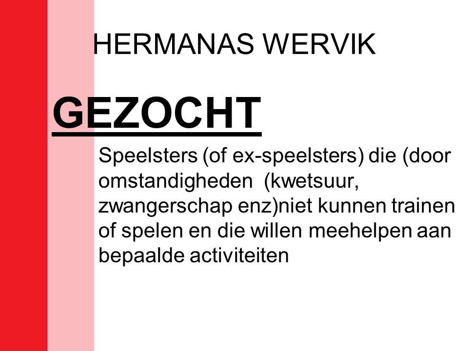 GEZOCHT HERMANAS WERVIK