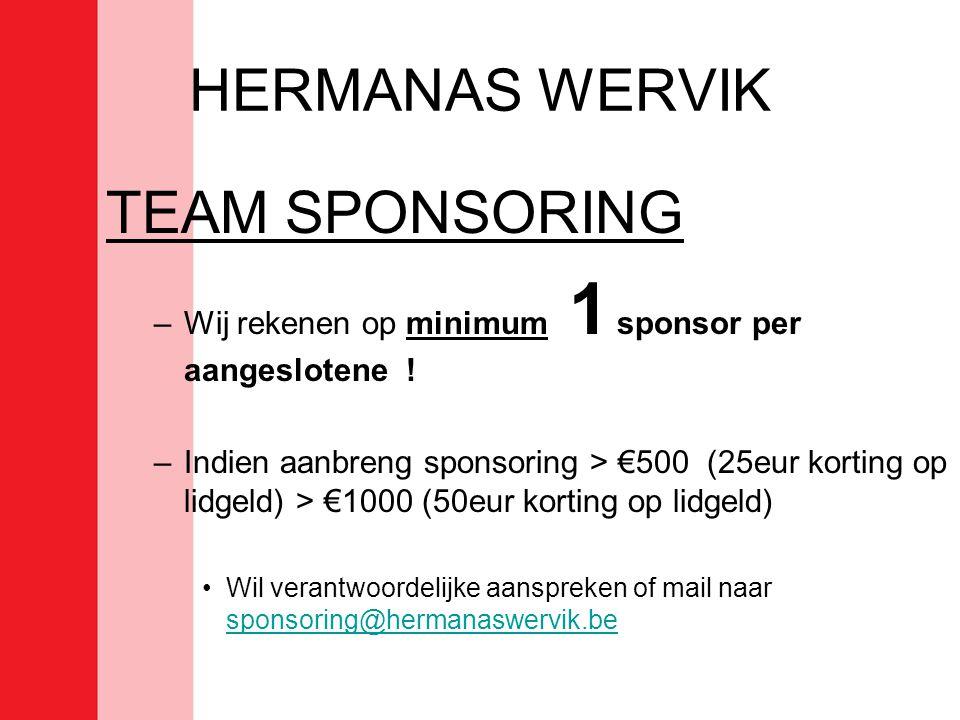 HERMANAS WERVIK TEAM SPONSORING