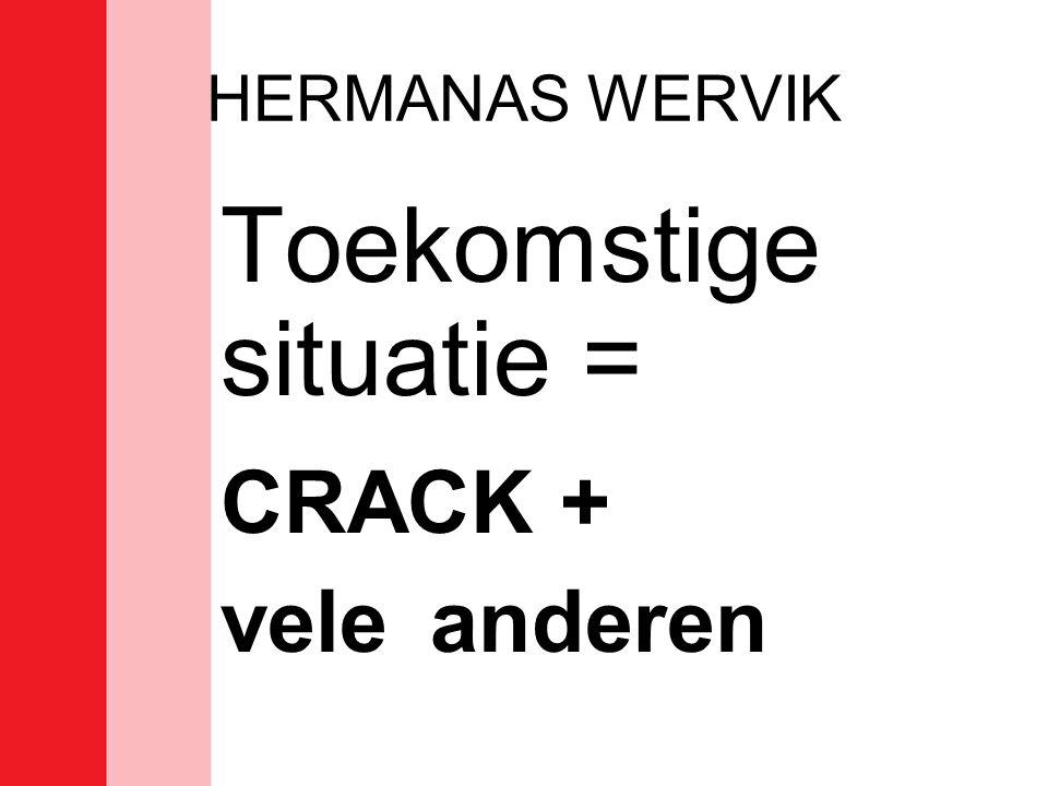 Toekomstige situatie = CRACK +