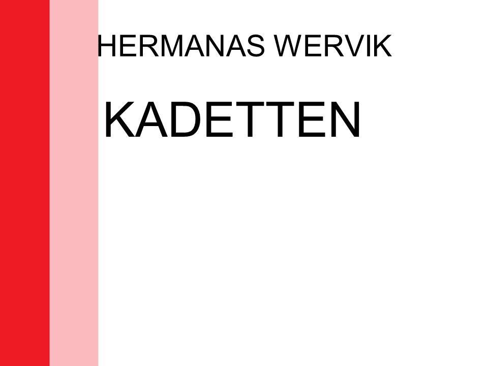 HERMANAS WERVIK KADETTEN