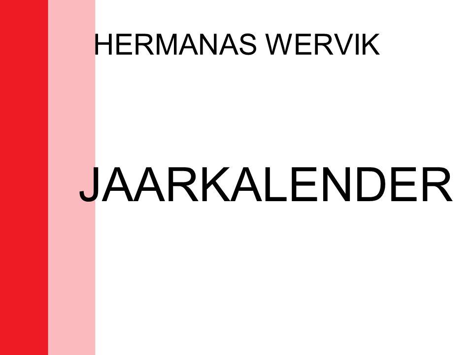 HERMANAS WERVIK JAARKALENDER