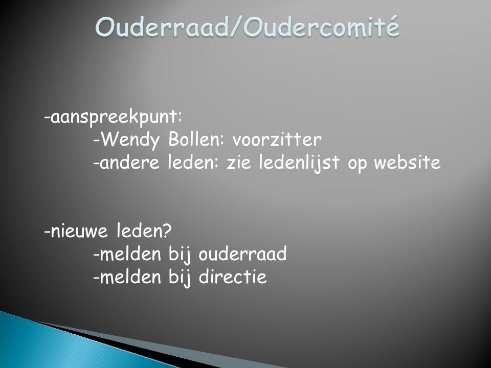 Ouderraad/Oudercomité