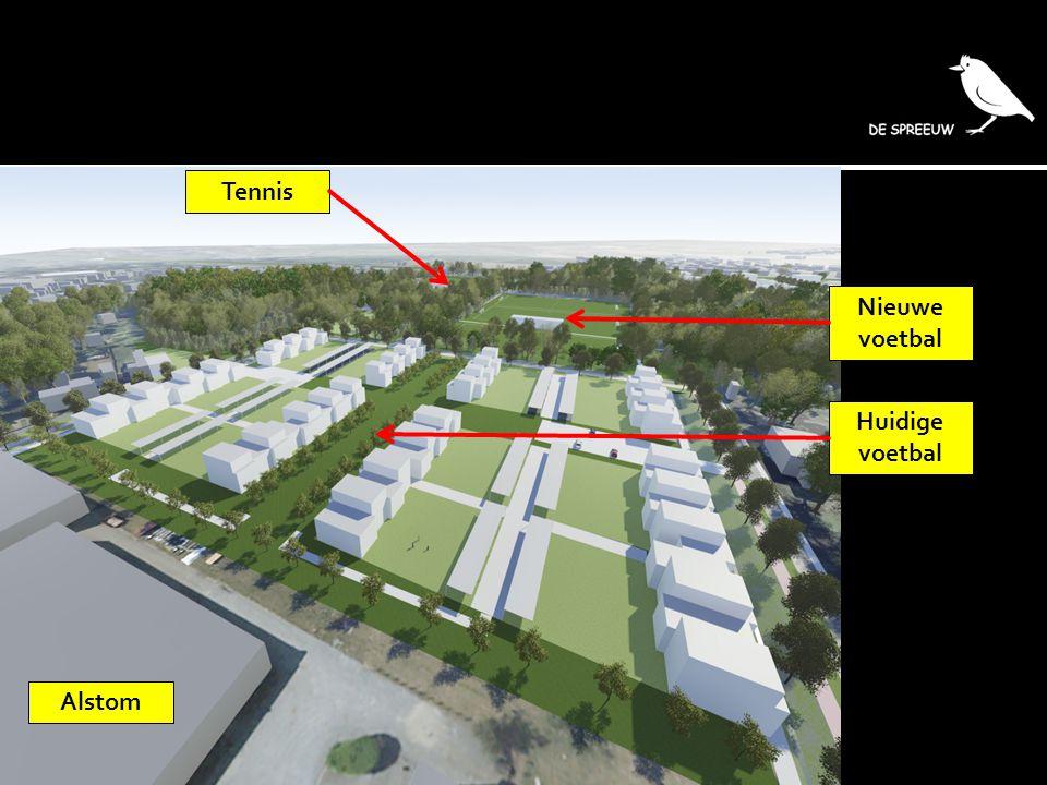 Tennis Nieuwe voetbal Huidige voetbal Alstom