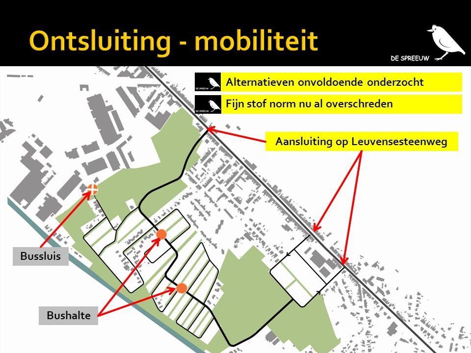 Ontsluiting - mobiliteit
