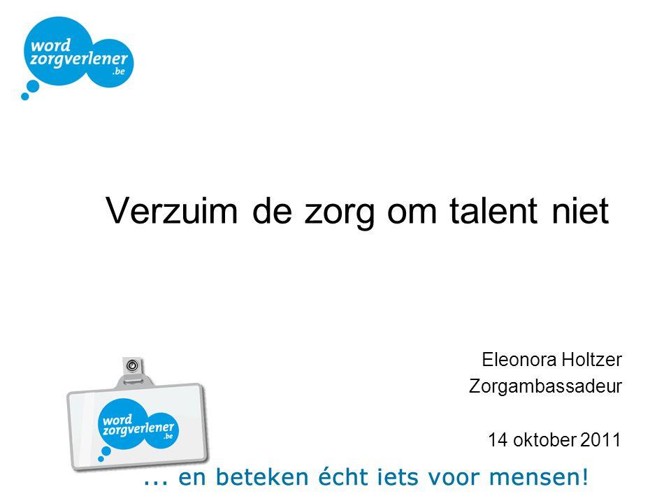 Verzuim de zorg om talent niet