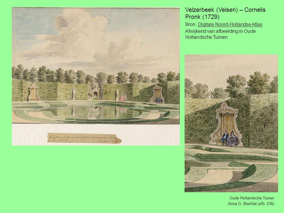 Velzerbeek (Velsen) – Cornelis Pronk (1729)