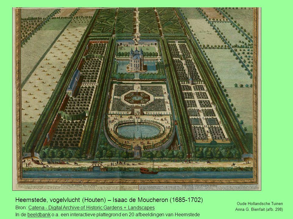 Heemstede, vogelvlucht (Houten) – Isaac de Moucheron (1685-1702)