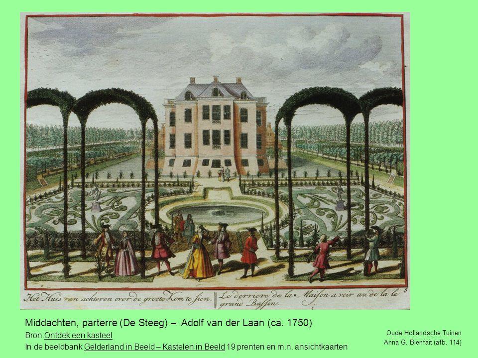 Middachten, parterre (De Steeg) – Adolf van der Laan (ca. 1750)