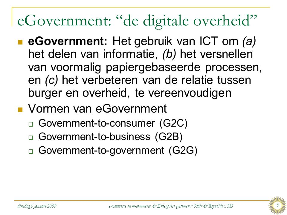 eGovernment: de digitale overheid
