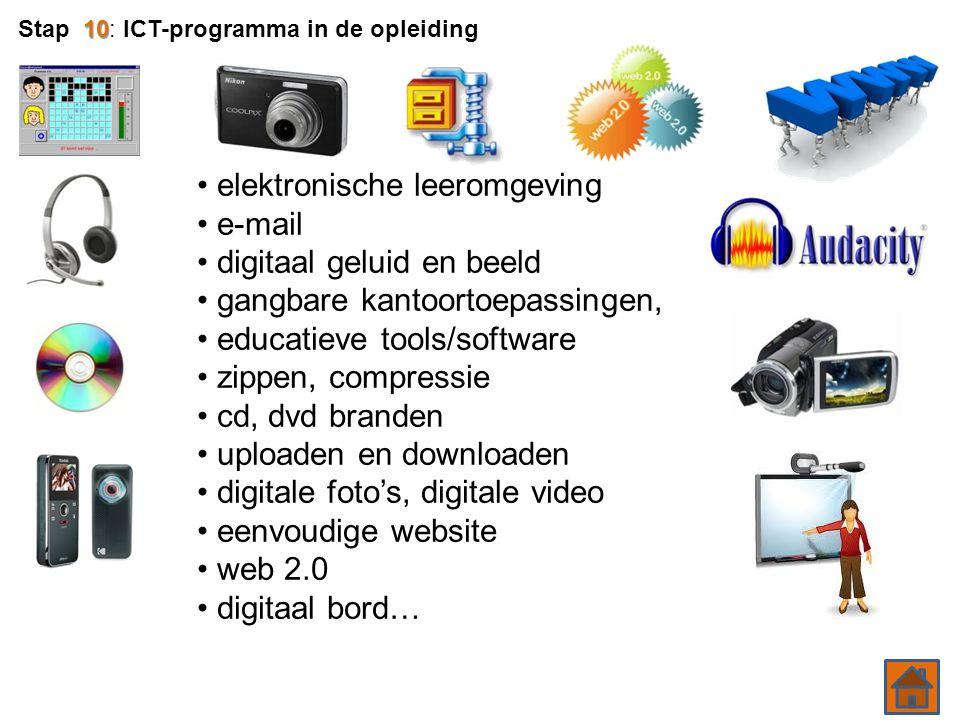 elektronische leeromgeving e-mail digitaal geluid en beeld