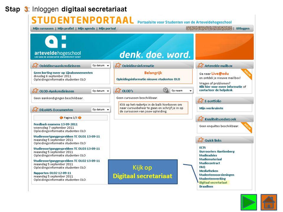 Kijk op Digitaal secretariaat