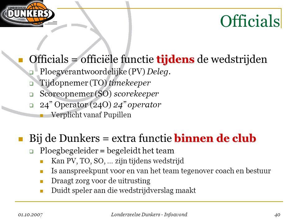 Londerzeelse Dunkers - Infoavond