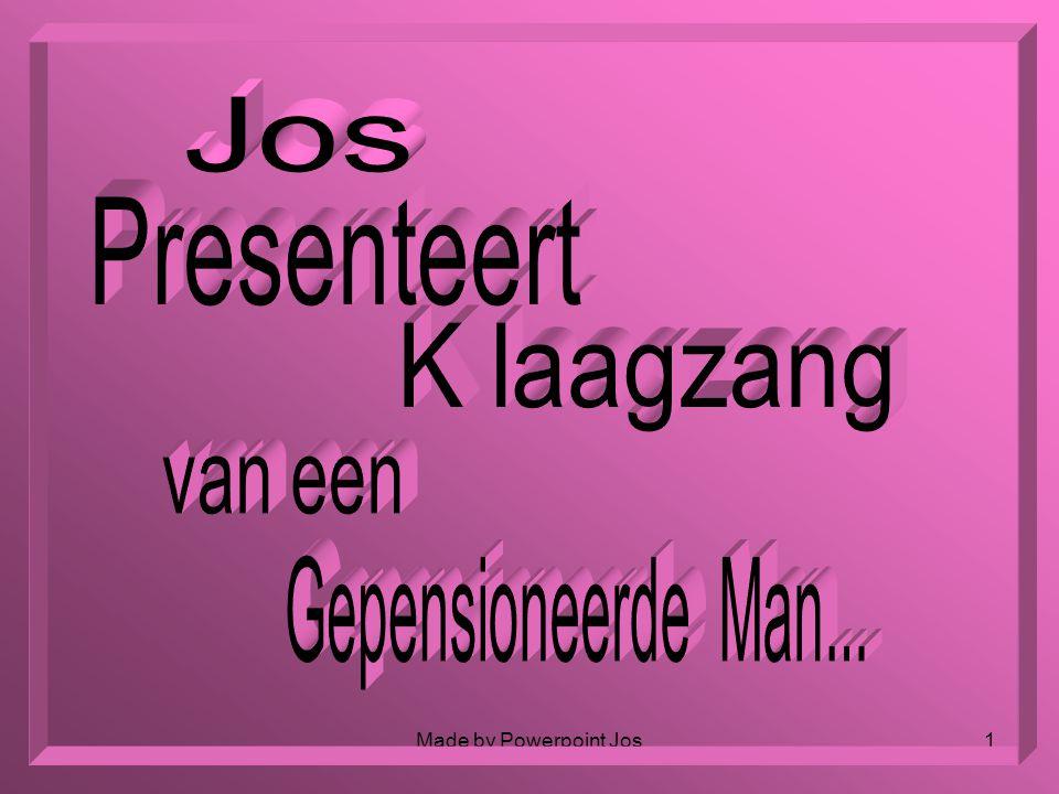 Jos Presenteert K laagzang van een Gepensioneerde Man...