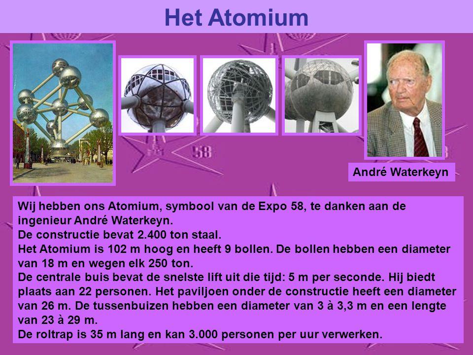Het Atomium André Waterkeyn