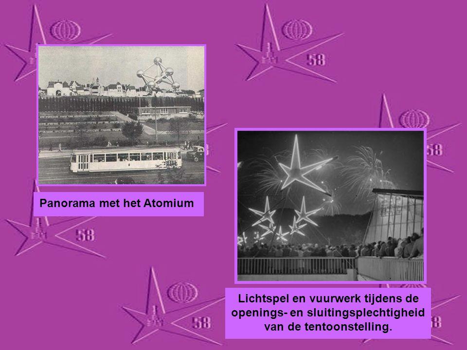 Panorama met het Atomium