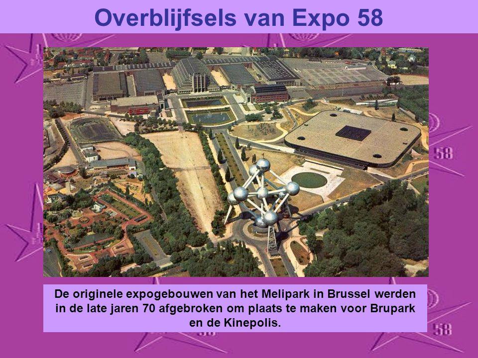 Overblijfsels van Expo 58