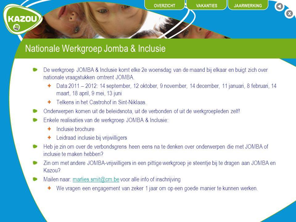 Nationale Werkgroep Jomba & Inclusie