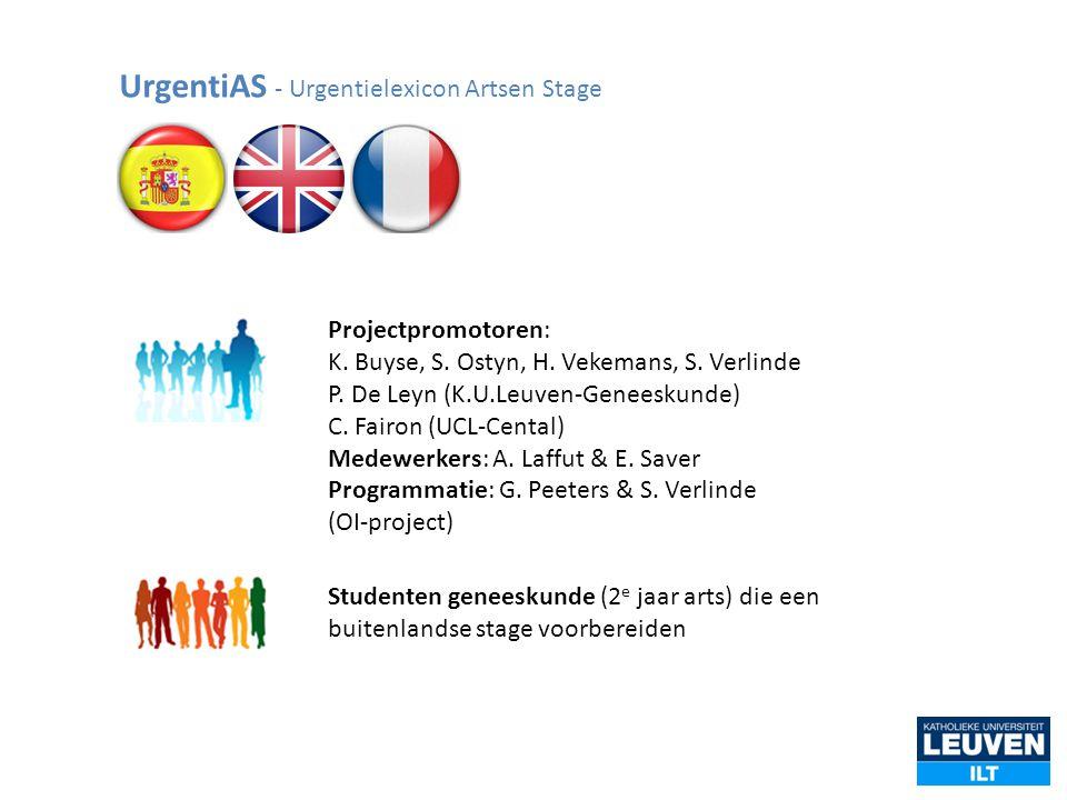 UrgentiAS - Urgentielexicon Artsen Stage