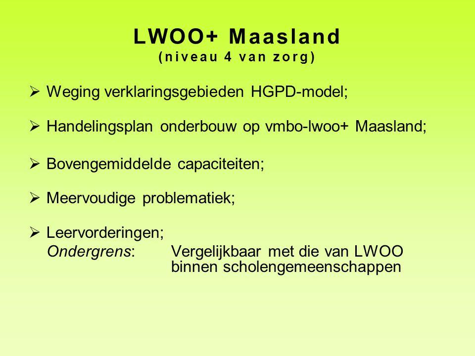 LWOO+ Maasland (niveau 4 van zorg)