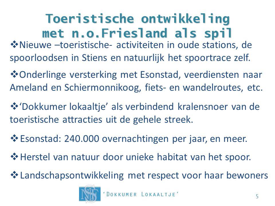 Toeristische ontwikkeling met n.o.Friesland als spil