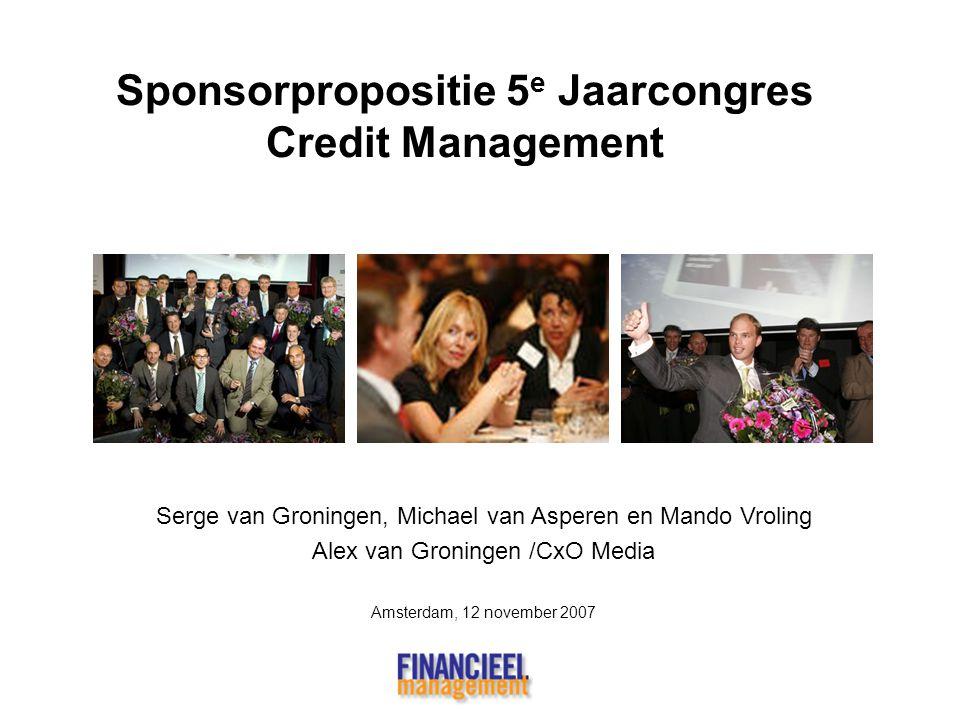Sponsorpropositie 5e Jaarcongres Credit Management